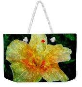 Hibiscus Hiwc Weekender Tote Bag
