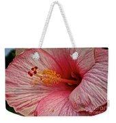 Hibiscus Pink Weekender Tote Bag