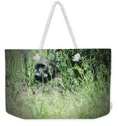 Hiding In Tall Grass Weekender Tote Bag