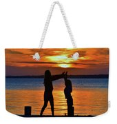 High 5 Weekender Tote Bag