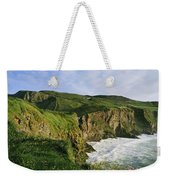 High Angle View Of A Coast, County Weekender Tote Bag