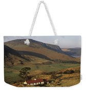 High Angle View Of A House, County Weekender Tote Bag