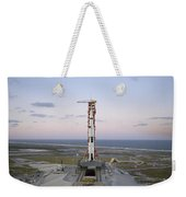 High-angle View Of The Apollo 8 Weekender Tote Bag