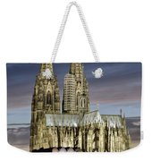 High Cathedral Of Sts. Peter And Mary In Cologne Weekender Tote Bag