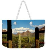 High Chaparral Old Tuscon Arizona  Weekender Tote Bag