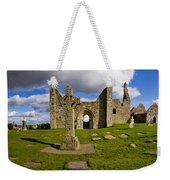 High Cross At Clonmacnoise, County Weekender Tote Bag