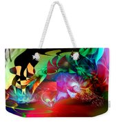 High Hopes Weekender Tote Bag by Linda Sannuti