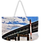 High In The Skyway Weekender Tote Bag