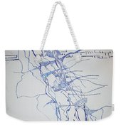 High Jump Weekender Tote Bag