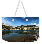 High Mountain Paradise Weekender Tote Bag
