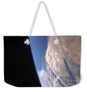 High Oblique Scene Looking Weekender Tote Bag by Stocktrek Images