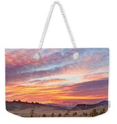 High Park Wildfire Sunset Sky Weekender Tote Bag