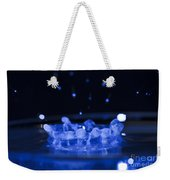 High-speed Flash Photograph Liquid Coronet. Weekender Tote Bag
