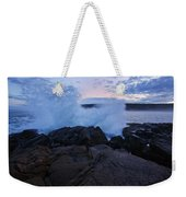 High Tide At Dusk Weekender Tote Bag