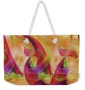 High Vibrational Weekender Tote Bag by Linda Sannuti