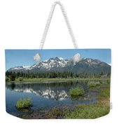 High Water Mt Tallac Reflections Weekender Tote Bag