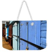 Highcliffe Beach Huts Weekender Tote Bag