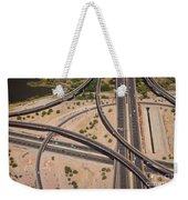 Highway Planet Art Weekender Tote Bag