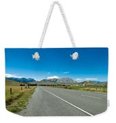 Highway Towards Panoramic Mountain Weekender Tote Bag