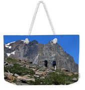 Hiking In Jasper Weekender Tote Bag