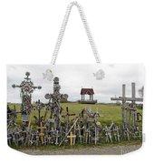 Hill Of Crosses 01. Lithuania Weekender Tote Bag