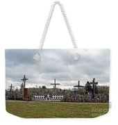 Hill Of Crosses 05. Lithuania Weekender Tote Bag