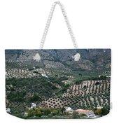 Hills Dales And Vineyards Weekender Tote Bag