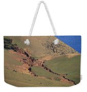 Hillside Erosion Caused By Run Weekender Tote Bag