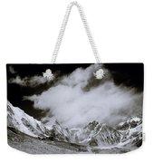 Himalayan Mountain Range Weekender Tote Bag