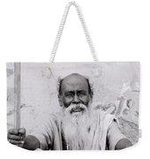 Hindu Holyman In Benares Weekender Tote Bag