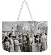 Hindu Pilgrims Weekender Tote Bag
