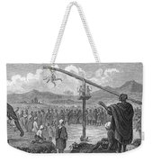 Hindu Public Penance Weekender Tote Bag by Photo Researchers