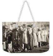 Hine: Child Labor, 1910 Weekender Tote Bag