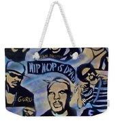 Hip Hop Is Dead #1 Weekender Tote Bag
