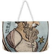 Hipparchus, Greek Astronomer Weekender Tote Bag by Photo Researchers, Inc.