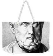 Hippocrates, Greek Physician, Father Weekender Tote Bag
