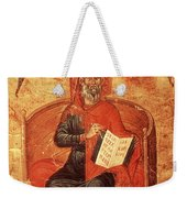 Hippocrates With Aphorisms Weekender Tote Bag