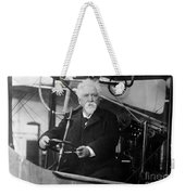 Hiram Maxim, American-anglo Inventor Weekender Tote Bag