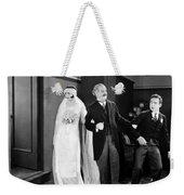His Marriage Wow, 1925 Weekender Tote Bag