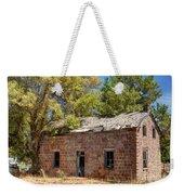Historic Ruined Brick Building In Rural Farming Community - Utah Weekender Tote Bag
