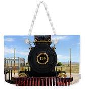 Historic Steam Locomotive Weekender Tote Bag