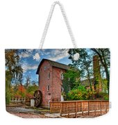 Historic Woods Grist Mill Weekender Tote Bag