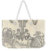 Historical Anatomical Illustration Weekender Tote Bag