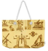 Historical Astronomy Instruments Weekender Tote Bag