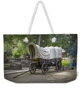Historical Frontier Covered Wagon Weekender Tote Bag