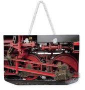 Historical Steam Train Weekender Tote Bag