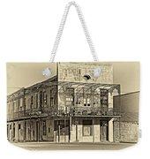 History Lesson Sepia Weekender Tote Bag