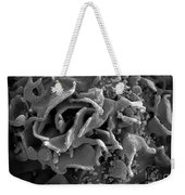 Hiv-infected T Cell, Sem Weekender Tote Bag by Science Source