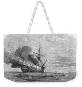 Hms Bombay Burning, 1865 Weekender Tote Bag