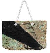 Hoan Bridge And Brick Weekender Tote Bag